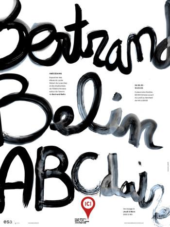 ABCdaire Bertrand Belin à la Maison de la Culture