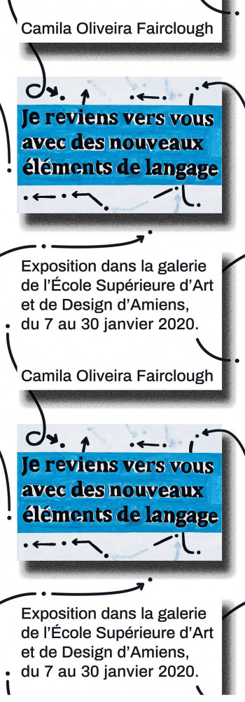 « Je reviens vers vous avec des nouveaux éléments de langage » Camila Oliveira Fairclough