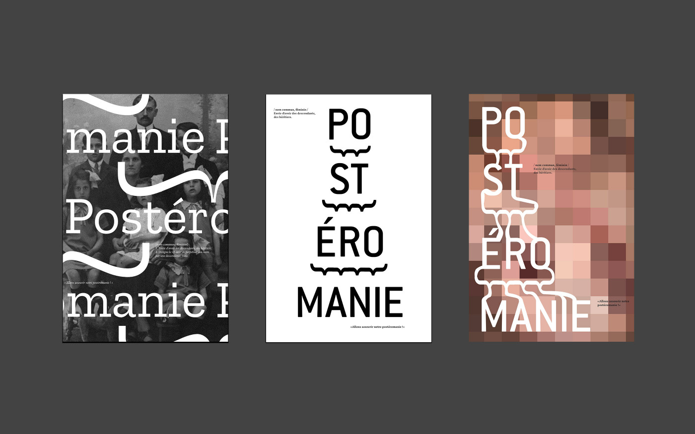Affiches typographiques